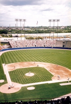 The View from Our Seats at County Stadium - 7-29-93