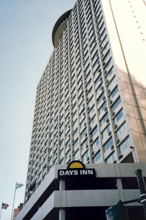 The Days Inn on Lake Shore Drive
