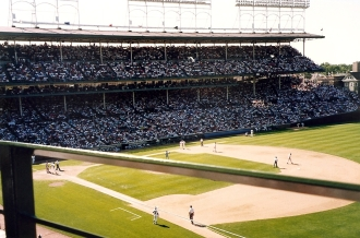 Chicago, 1993 - Seat View at Wrigley Field