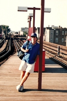Todd Waits at Belmont Station North of Chicago - 7-30-93