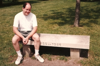 Steve, the 'Ass of 1986' at Northwestern University - 7-27-93