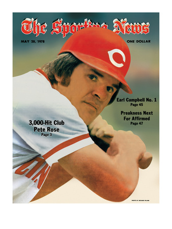 The Sporting News - Pete Rose 3,000th