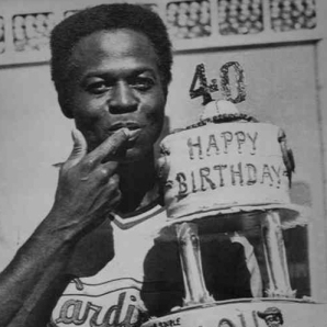 STL - Lou Brock 40th Birthday