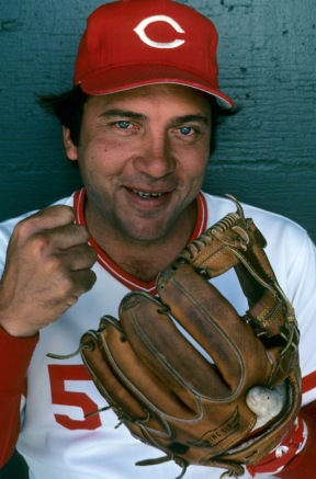 Johnny Bench - birthday photo