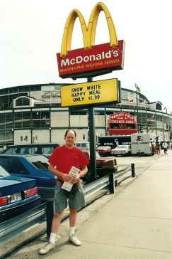 SP at Wrigley McDonald's 7-31-93