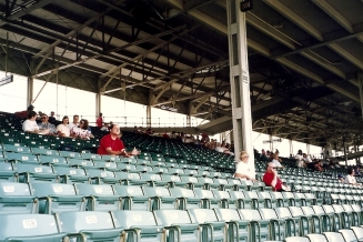 SP Inside Wrigley 7-31-93