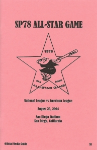 'SP78 All-Star Game' Media Guide