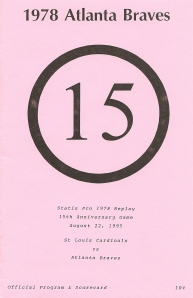 'SP78 15th Anniversary' Program