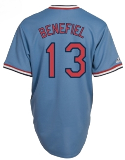 STL - Todd Benefiel #13 road jersey